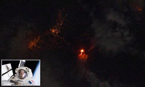 ISS astronaut shares incredible photo of La Palma volcano eruption