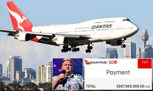 Comedian's plane ticket from Melbourne to Perth cost $1BILLION