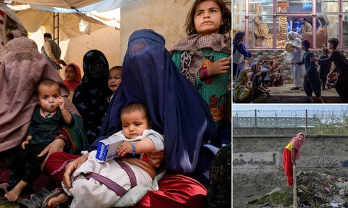 Afghan families 'are selling their CHILDREN to make ends meet'