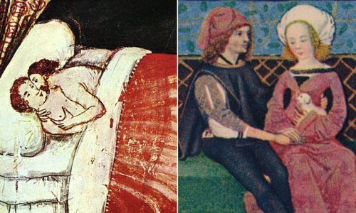 People in Middle Ages preferred foreplay rather than just procreation