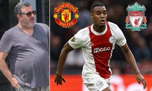 Manchester United 'will battle Liverpool for Ajax starlet Gravenberch'