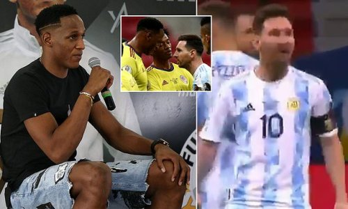 Yerry Mina insists he will 'ALWAYS respect' Lionel Messi
