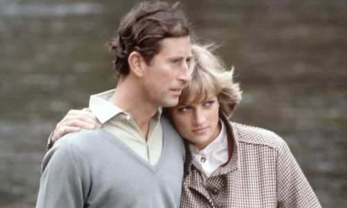 Rare photos show Diana and Charles when they were young and in love