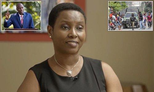 Martine Moise describes watching gunmen shoot husband dead