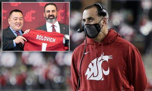 Ex-Washington State coach Nick Rolovich to sue school over firing
