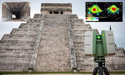 Secret passageway found under 1,000-year-old Mayan temple