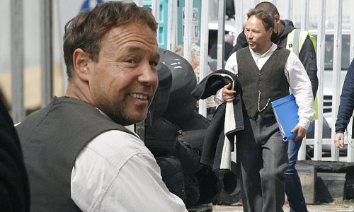 Stephen Graham shoots new Peaky Blinders scenes for the sixth series