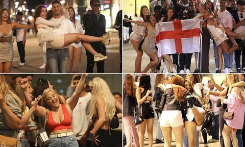 Revellers hit bars in Leeds on the hottest weekend of the year
