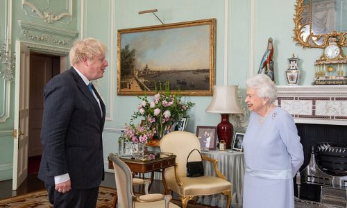 The Queen and PM hold first in-person meeting since pandemic