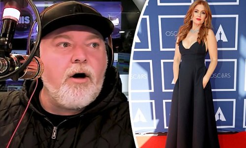 Kyle Sandilands is exposed for LYING about kissing Isla Fisher