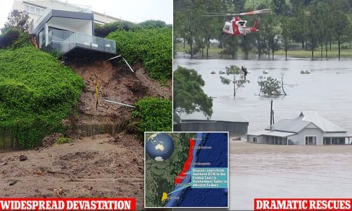 Schools closed and employees urged to STAY HOME amid NSW floods