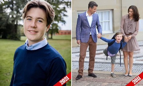 Princess Mary's son is all grown up on his 16th birthday