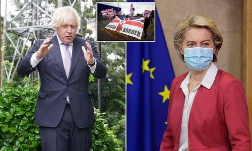 Downing Street dismisses EU's Northern Ireland Protocol plans