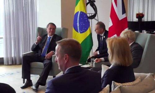 Boris Johnson tells Brazil's President to get AstraZeneca