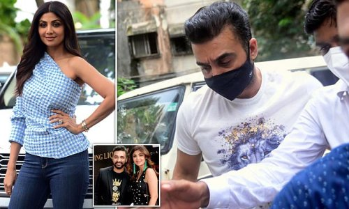 Police took 48 TB of 'mostly adult' material from Shilpa Shetty's home