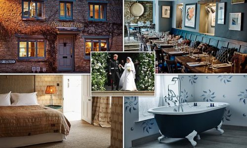 Inside the charming Cotswolds pub with rooms run by a Royal florist