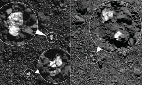 NASA images of asteroid Bennu reveal chunks of another planetoid