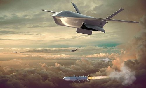 First image of combat drone that could face-off against enemy aircraft