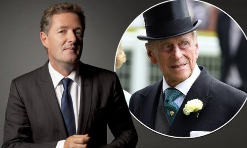 PIERS MORGAN: Philip glared at me as if I'd strangled his corgis