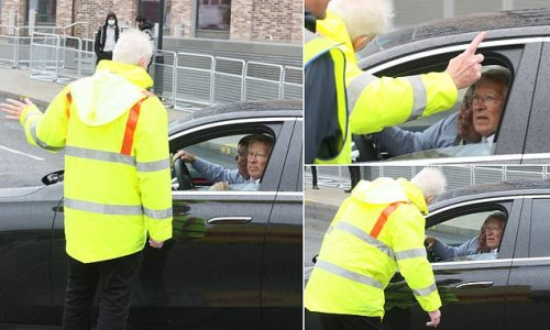 Sir Alex Ferguson SNUBBED from VIP parking at Wembley