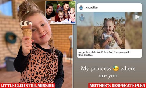 Cleo's mum asks her missing daughter: 'My princess, where are you?'