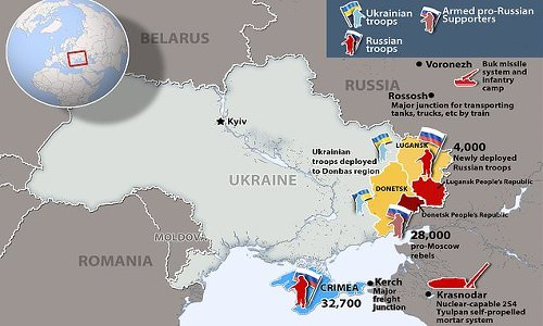 Putin's threat to West: How Russia has surrounded Ukraine's border