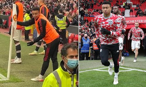 Man United fan filmed shouting abuse at substitute Jesse Lingard