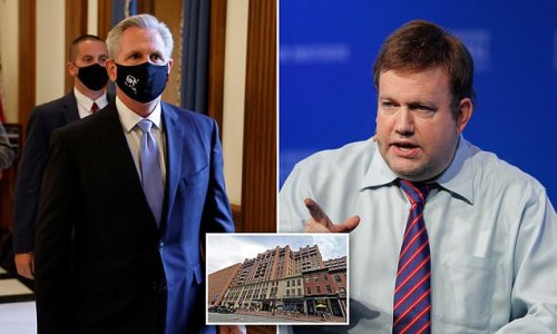 McCarthy faces further questions over rental of Frank Luntz's room