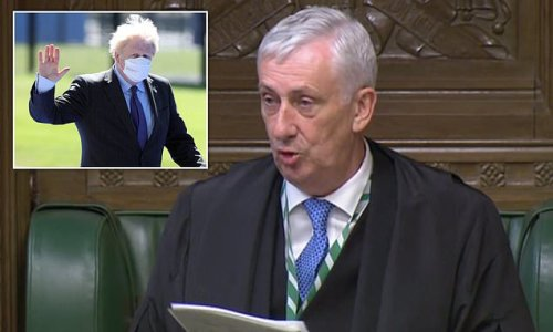 Boris backs down over lockdown announcement row with Speaker