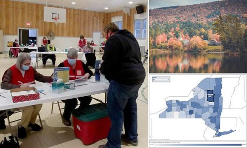 Inside tiny NY county with one of nation's highest vaccination rates