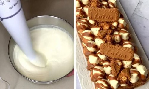 Home baker shares incredible twist on a classic tiramisu with BISCOFF