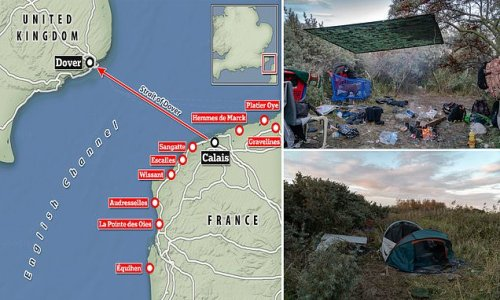 Revealed: How over 2,000 UK-bound migrants have dispersed from Calais