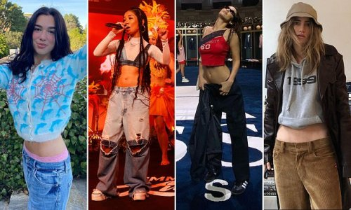Stars including Jhene Aiko go WILD for low rise jeans