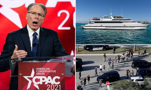 REVEALED: NRA boss LaPierre retreated to a yacht after mass shootings