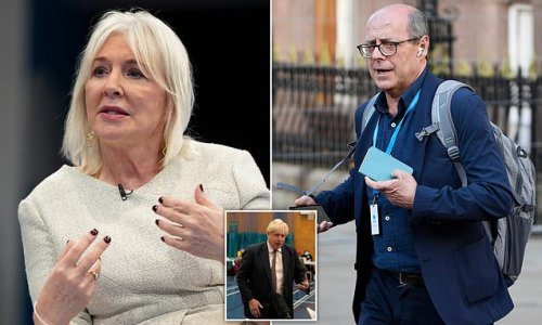 Dorries' fury at Nick Robinson after he told PM to 'stop talking'