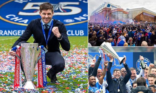 ON THE ROAD: A legend in Liverpool, now Gerrard is a GOD in Glasgow