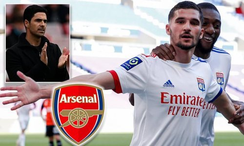 Arsenal 'preparing to launch £20m bid for Lyon star Houssem Aouar'
