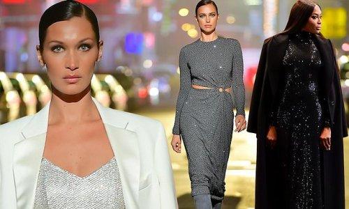 Bella Hadid, Irina Shayk, Naomi Campbell walk Michael Kors' NYFW show