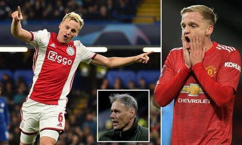 Van de Beek's 'big boy' attitude is criticised by Van Basten
