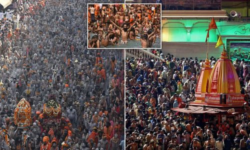 More than 1,000 catch Covid at the huge religious festival in India