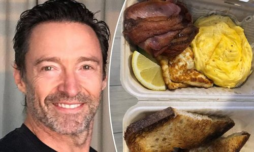 Hugh Jackman reveals the special Father's Day treat his family sent