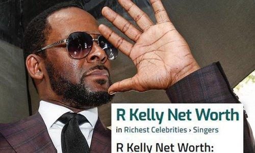 R. Kelly is mocked amid Celebrity Net Worth estimate he owes $2M