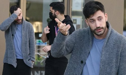Giovanni Pernice morning after with Jamie Laing after Maura split