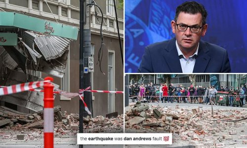 'It's Dan Andrews Fault': Hilarious reactions to Melbourne earthquake
