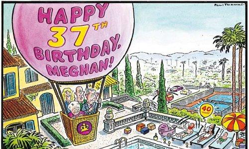 PAUL THOMAS on... Meghan's 40th birthday