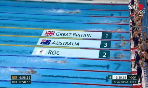 Kyle Chalmers rescues Australia's 4x200m relay team for a bronze medal