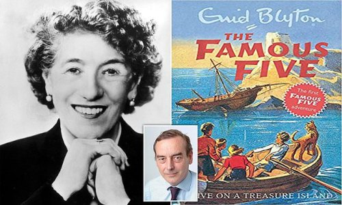 TOM UTLEY: What's so wrong with saying Enid Blyton stoked controversy?