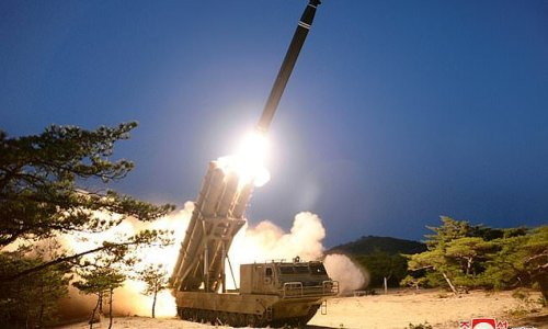 North Korea fires ballistic missile into the sea