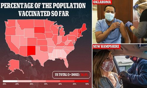 New Hampshire and Oklahoma open up vaccines to out-of-state residents