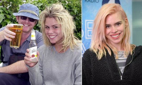 Boozing with Chris Evans helped me overcome anorexia says Billie Piper